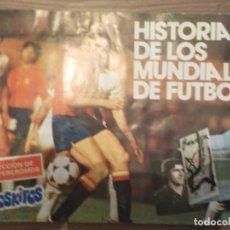 Coleccionismo deportivo: HISTORIA DE LOS MUNDIALES DE FUTBOL - PHOSKITOS. Lote 176389458