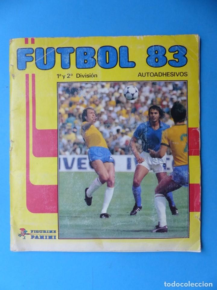 ALBUM CROMOS - FUTBOL 83 - PANINI - VER DESCRIPCION Y FOTOS (Coleccionismo Deportivo - Álbumes y Cromos de Deportes - Álbumes de Fútbol Incompletos)