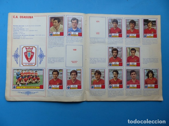 Coleccionismo deportivo: ALBUM CROMOS - FUTBOL 83 - PANINI - VER DESCRIPCION Y FOTOS - Foto 12 - 176639127
