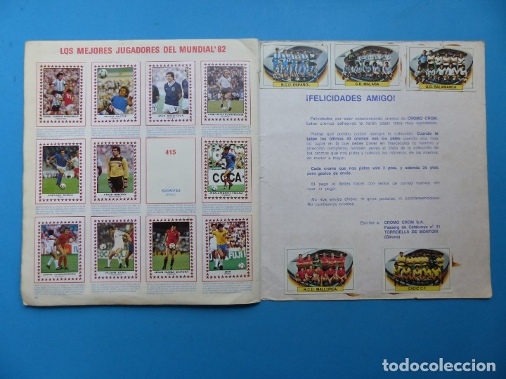 Coleccionismo deportivo: ALBUM CROMOS - FUTBOL 83 - PANINI - VER DESCRIPCION Y FOTOS - Foto 26 - 176639127