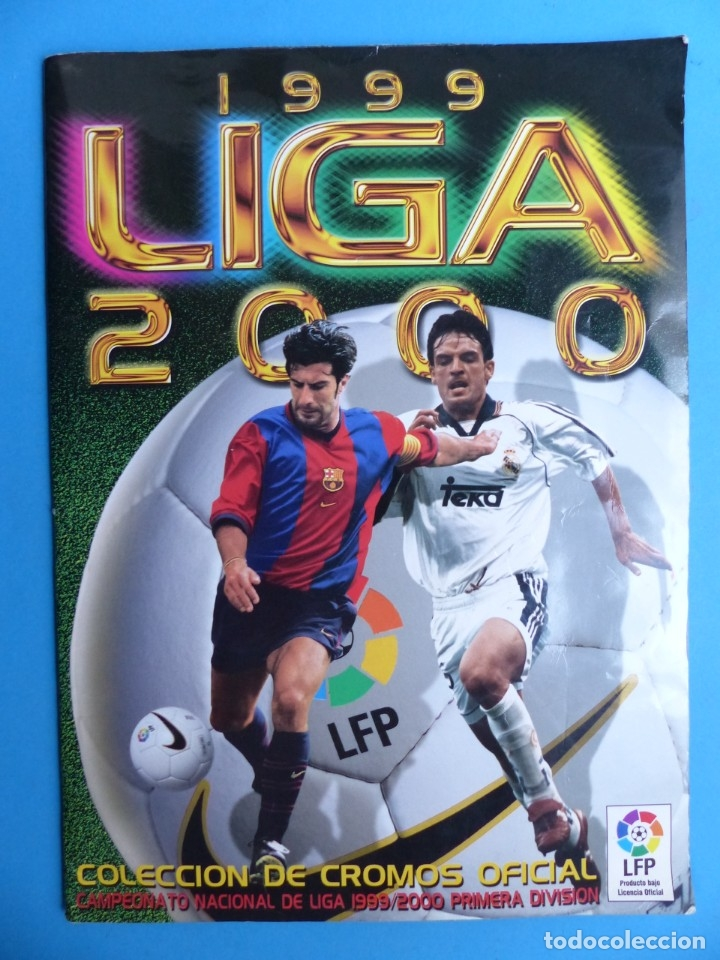 ALBUM CROMOS - LIGA 1999-2000 99-00 - ED. ESTE - TIENE 395 CROMOS - VER DESCRIPCION Y FOTOS (Coleccionismo Deportivo - Álbumes y Cromos de Deportes - Álbumes de Fútbol Incompletos)