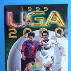 Coleccionismo deportivo: ALBUM CROMOS - LIGA 1999-2000 99-00 - ED. ESTE - TIENE 395 CROMOS - VER DESCRIPCION Y FOTOS. Lote 176681364