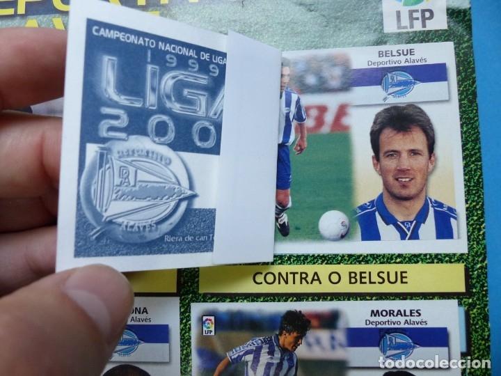 Coleccionismo deportivo: ALBUM CROMOS - LIGA 1999-2000 99-00 - ED. ESTE - TIENE 395 CROMOS - VER DESCRIPCION Y FOTOS - Foto 3 - 176681364