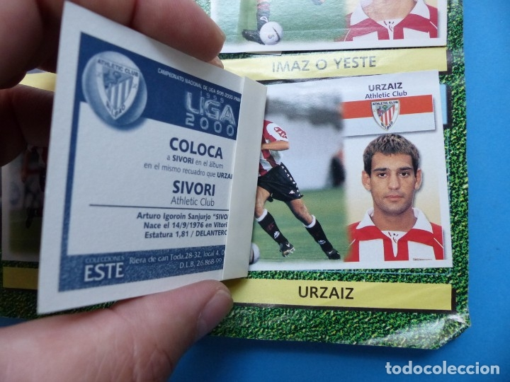 Coleccionismo deportivo: ALBUM CROMOS - LIGA 1999-2000 99-00 - ED. ESTE - TIENE 395 CROMOS - VER DESCRIPCION Y FOTOS - Foto 6 - 176681364