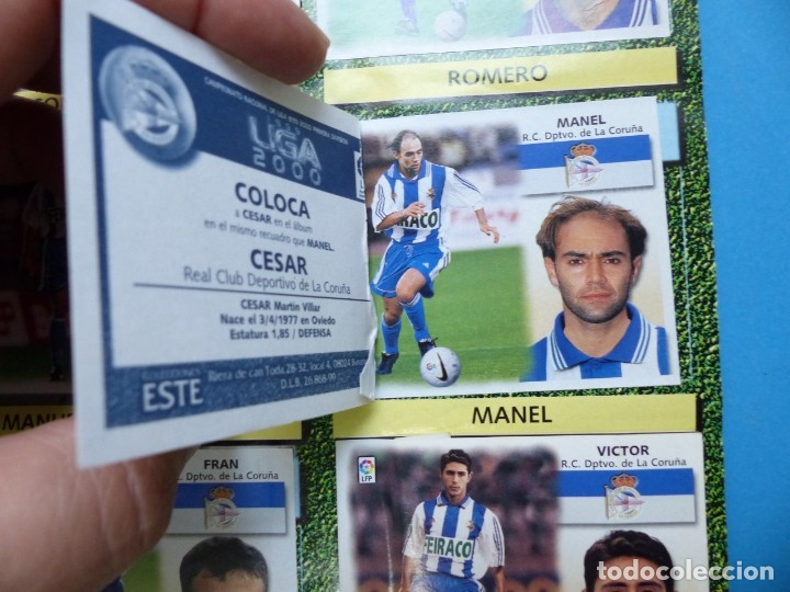 Coleccionismo deportivo: ALBUM CROMOS - LIGA 1999-2000 99-00 - ED. ESTE - TIENE 395 CROMOS - VER DESCRIPCION Y FOTOS - Foto 13 - 176681364