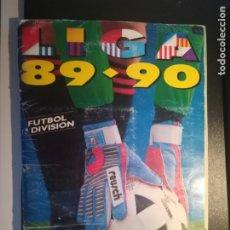 Coleccionismo deportivo: ALBUM LIGA ESTE 89/90 1989/90 INCOMPLETO CON 315 CROMOS, HAY DOBLES Y FICHAJES BUEN ESTADO GRAPADO. Lote 176742473
