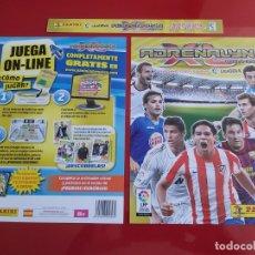Coleccionismo deportivo: PORTADAS ORIGINALES COLECCION ALBUM ARCHIVADOR ADRENALYN LIGA 2011 2012 11 12 PANINI CON MESSI. Lote 176860830