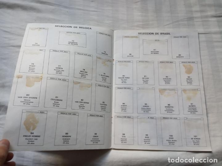 Coleccionismo deportivo: ALBUM ED VENLICO 82 CROMO FUTBOL LIGA 1982 MUNDIAL - VACIO CROMOS DESPEGADOS - Foto 6 - 177404252