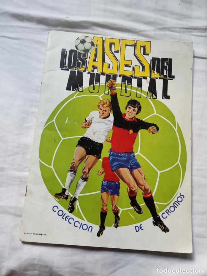 ALBUM ED VENLICO 82 CROMO FUTBOL LIGA 1982 MUNDIAL - VACIO CROMOS DESPEGADOS (Coleccionismo Deportivo - Álbumes y Cromos de Deportes - Álbumes de Fútbol Incompletos)
