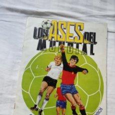 Coleccionismo deportivo: ALBUM ED VENLICO 82 CROMO FUTBOL LIGA 1982 MUNDIAL - VACIO CROMOS DESPEGADOS. Lote 177404252