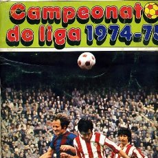Coleccionismo deportivo: ALBUM FUTBOL CAMPEONATO LIGA 1974 1975 74 75, DISGRA FHER. Lote 177574594