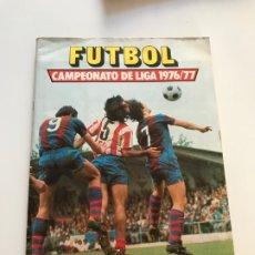 Coleccionismo deportivo: ALBUM CROMOS CAMPEONATO DE LIGA 1976-1977 , 76-77 , EDITORIAL ESTE , COMPLETO MENOS ULTIMOS FICHAJES. Lote 177574952