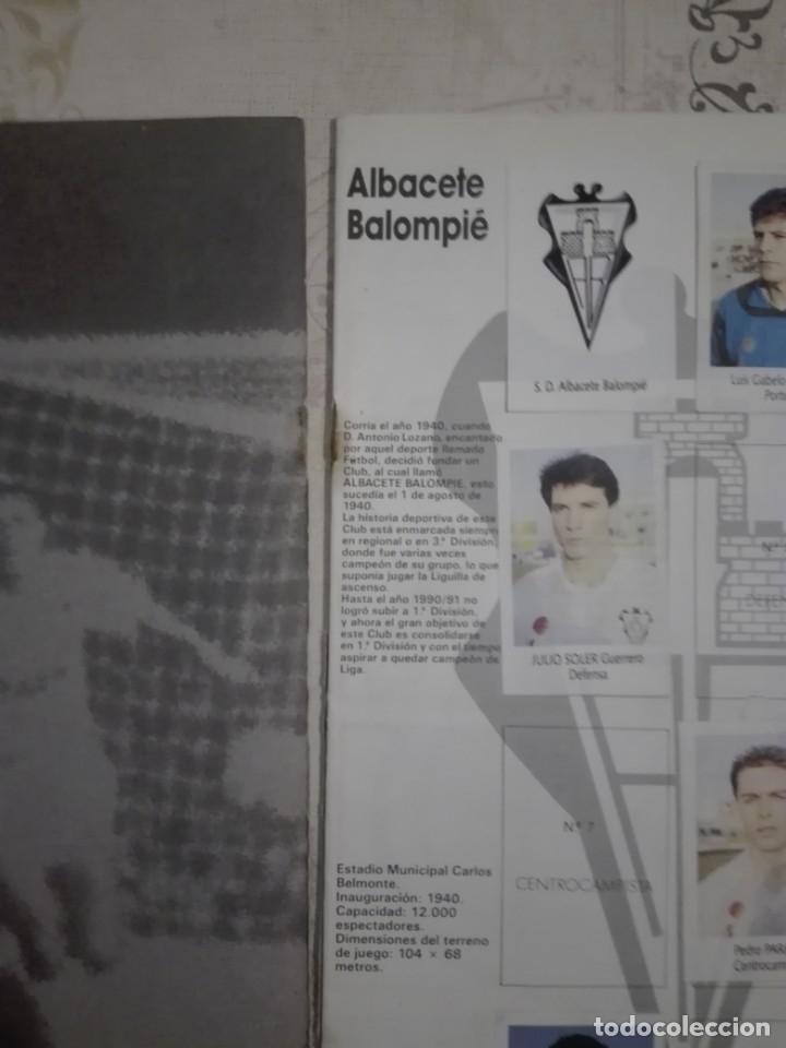 Coleccionismo deportivo: Liga fútbol 91 92 bimbo - Foto 2 - 177610824