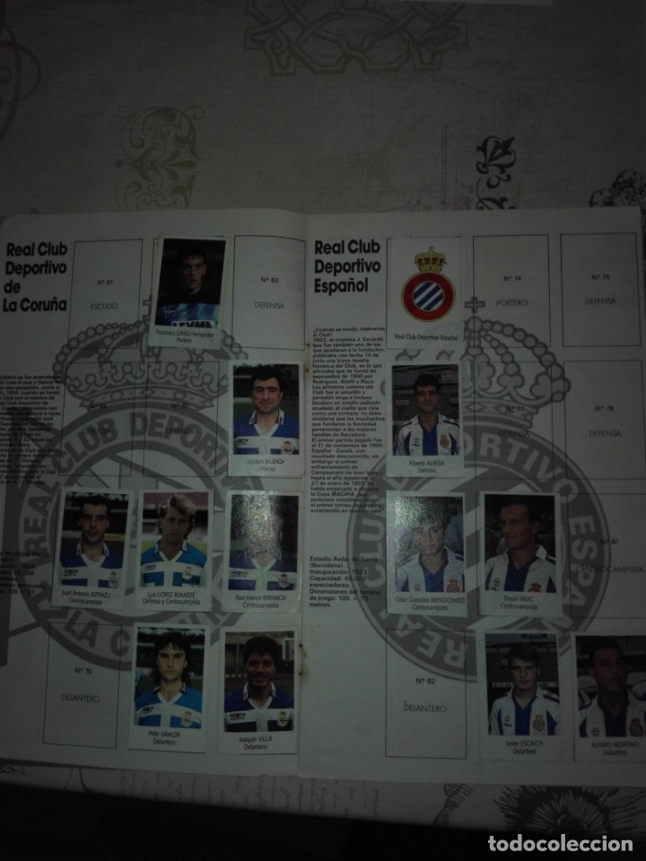 Coleccionismo deportivo: Liga fútbol 91 92 bimbo - Foto 5 - 177610824