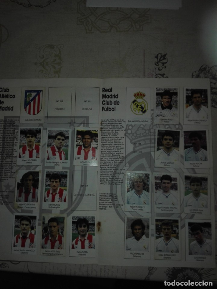 Coleccionismo deportivo: Liga fútbol 91 92 bimbo - Foto 6 - 177610824