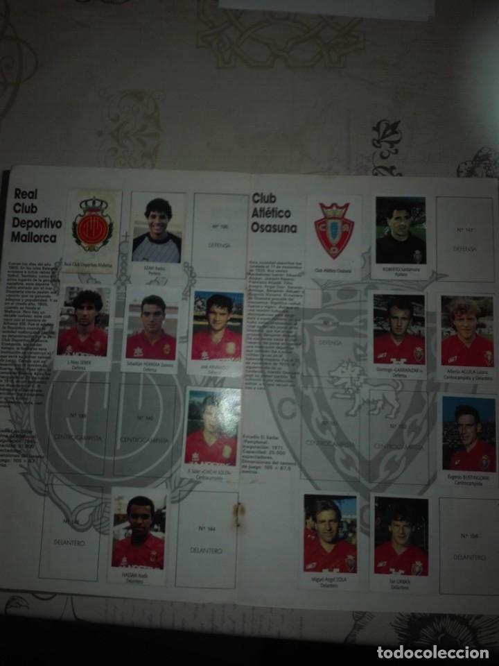 Coleccionismo deportivo: Liga fútbol 91 92 bimbo - Foto 7 - 177610824