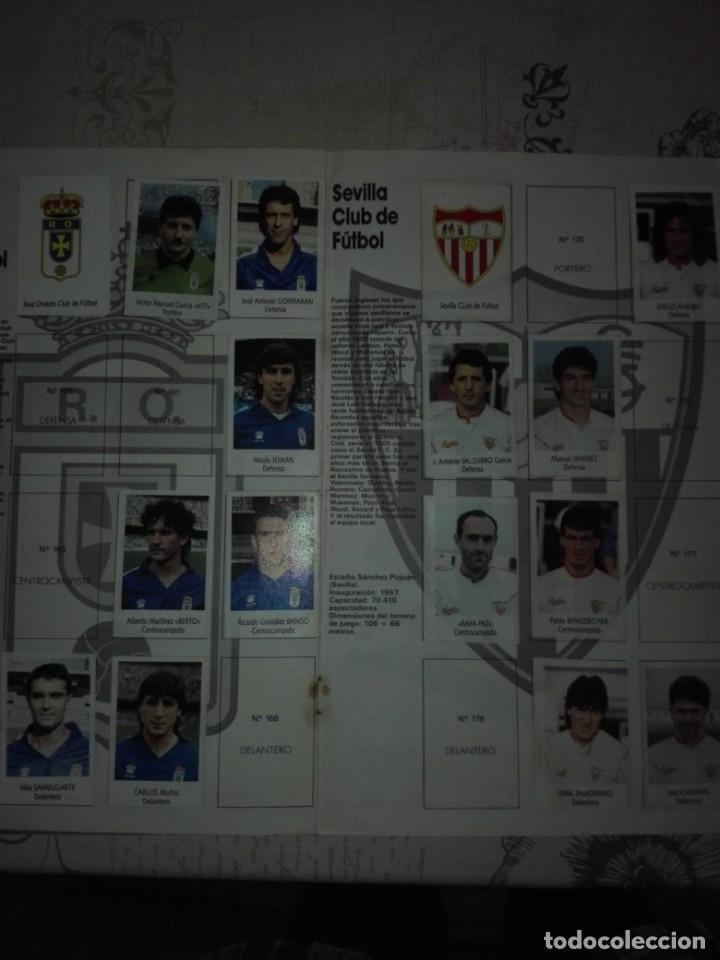 Coleccionismo deportivo: Liga fútbol 91 92 bimbo - Foto 8 - 177610824