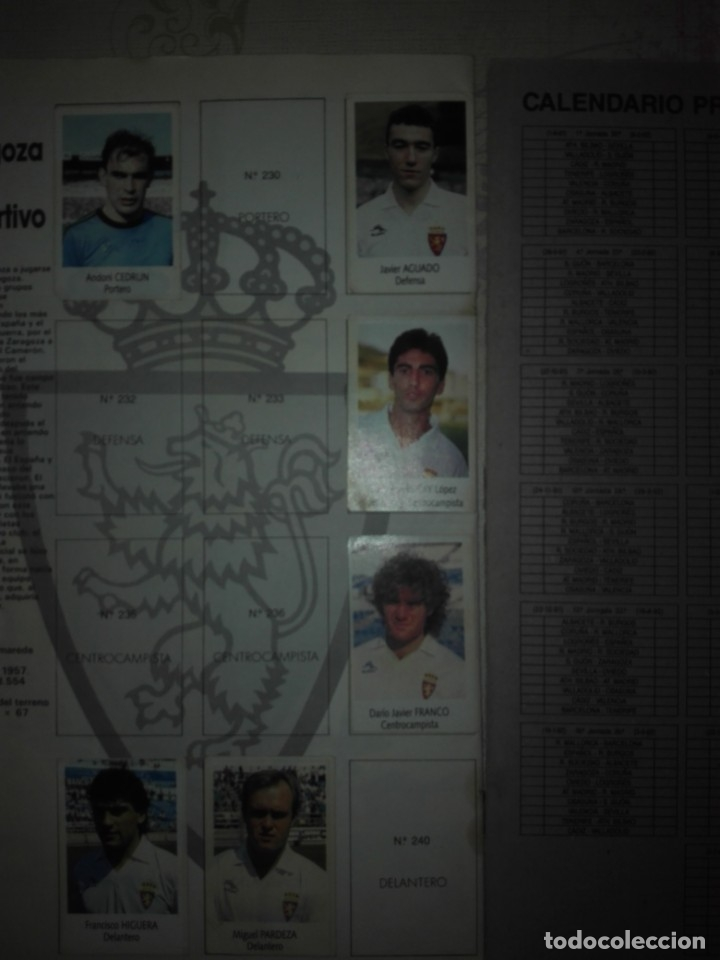 Coleccionismo deportivo: Liga fútbol 91 92 bimbo - Foto 11 - 177610824