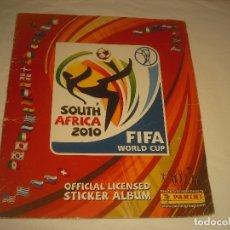 Coleccionismo deportivo: SOUTH AFRICA 2010 . FIFA WORLD CUP . CONTIENE 440 CROMOS.. Lote 177630235