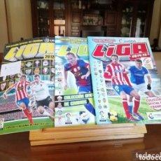 Coleccionismo deportivo: COLECCIÓN ALBUMES FÚTBOL PLANCHA ESTE. 10 ALBUMES.. Lote 177690727