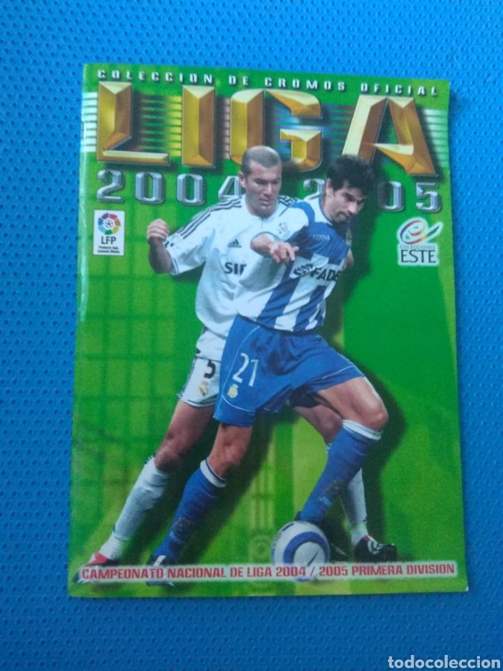 Coleccionismo deportivo: ÁLBUM DE CROMOS FÚTBOL LIGA 2004-2005 04-05, EDICIONES ESTE, INCOMPLETO CON 299-300 CROMOS - Foto 4 - 127015040