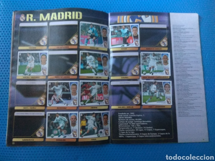 Coleccionismo deportivo: ÁLBUM DE CROMOS FÚTBOL LIGA 2004-2005 04-05, EDICIONES ESTE, INCOMPLETO CON 299-300 CROMOS - Foto 14 - 127015040