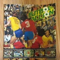 Coleccionismo deportivo: ANTIGUO ALBUM FUTBOL EN ACCION DE DANONE - MUNDIAL 1982 - INCOMPLETO FIFA WORLD CUP SPAIN 82 STICKER. Lote 177749174