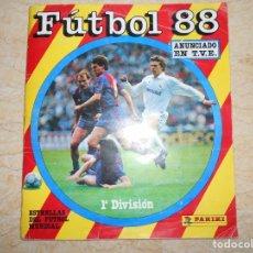 Coleccionismo deportivo: ÁLBUM PANINI FÚTBOL 88, CASI COMPLETO (FALTAN 2 CROMOS). Lote 177755957