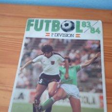 Coleccionismo deportivo: ALBUM ED CANO 83 84 CROMO FUTBOL LIGA 1983 1984 - VACIO CROMOS DESPEGADOS. Lote 177786184