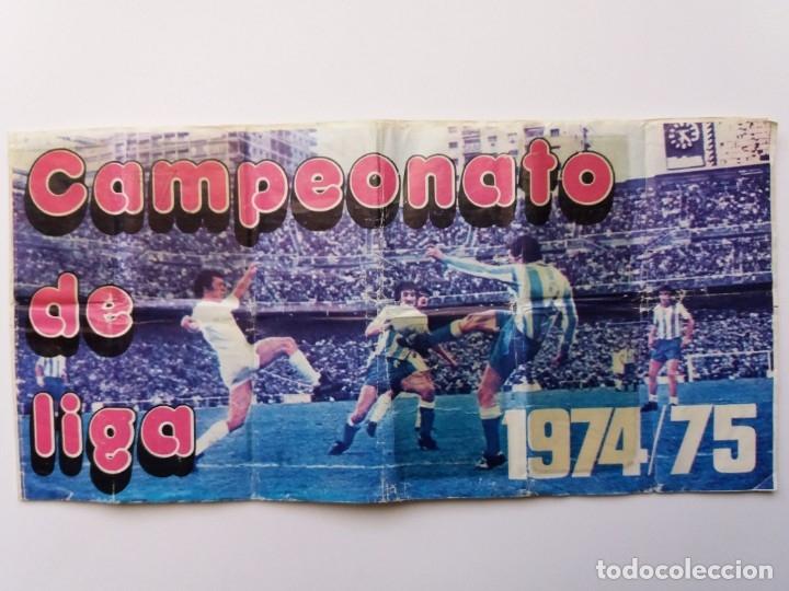 ÁLBUM FÚTBOL CAMPEONATO DE LIGA 1974/75. PIPAS TOSTAVAL. LIT. GRAELL. INCOMPLETO. (Coleccionismo Deportivo - Álbumes y Cromos de Deportes - Álbumes de Fútbol Incompletos)