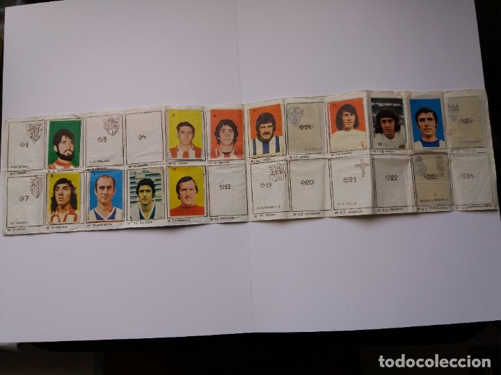 Coleccionismo deportivo: ÁLBUM FÚTBOL CAMPEONATO DE LIGA 1974/75. PIPAS TOSTAVAL. LIT. GRAELL. INCOMPLETO. - Foto 2 - 177876108