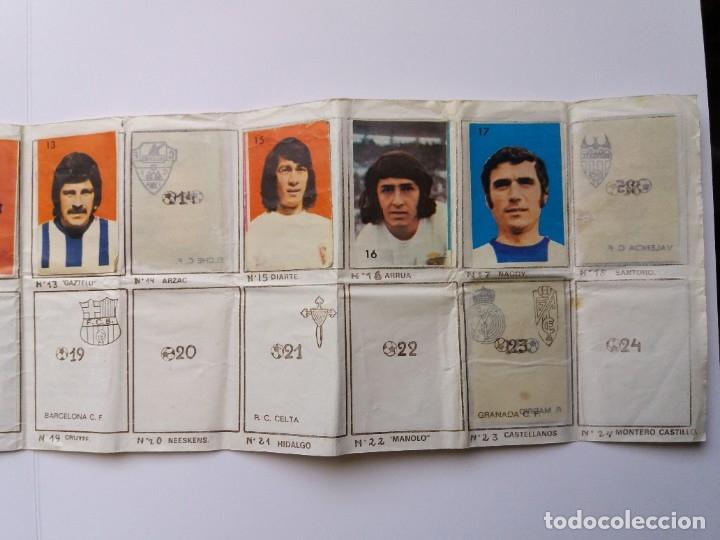 Coleccionismo deportivo: ÁLBUM FÚTBOL CAMPEONATO DE LIGA 1974/75. PIPAS TOSTAVAL. LIT. GRAELL. INCOMPLETO. - Foto 4 - 177876108
