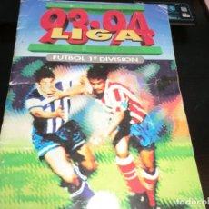 Coleccionismo deportivo: LIGA 1993-1994 DE ESTE CON CROMOS DIFICILES,PERO INCOMPLETO POR MUY POCO. Lote 177878055