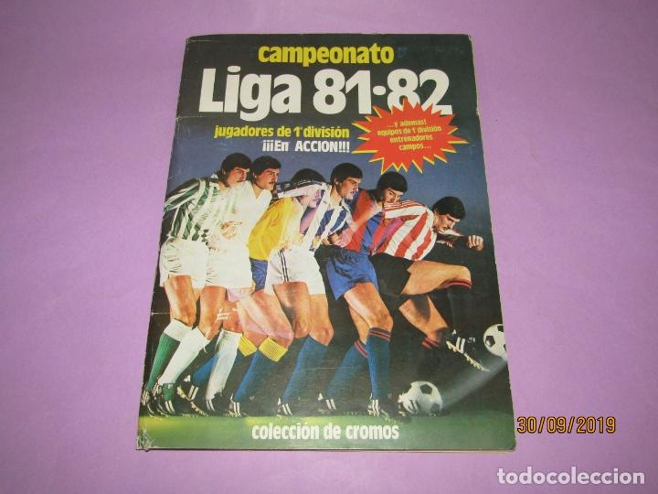ANTIGUO ÁLBUM CAMPEONATO DE LIGA 81-82 DE EDICIONES ESTE (Coleccionismo Deportivo - Álbumes y Cromos de Deportes - Álbumes de Fútbol Incompletos)