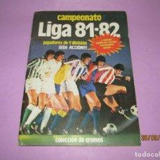 Coleccionismo deportivo: ANTIGUO ÁLBUM CAMPEONATO DE LIGA 81-82 DE EDICIONES ESTE. Lote 177941772