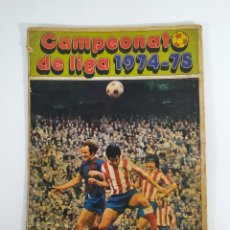 Coleccionismo deportivo: ÁLBUM CAMPEONATO DE LIGA 1974-75 DISGRA. Lote 177984125