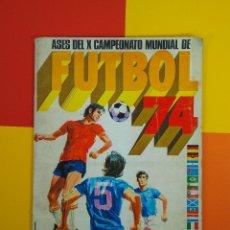 Coleccionismo deportivo: ASES DEL X CAMPEONATO MUNDIAL DE FUTBOL 74 . Lote 178002644