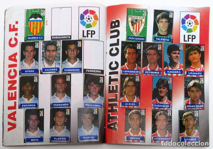 Coleccionismo deportivo: ALBUM Liga 1996 97 con 199 cromos. Real Madrid, Barcelona, Athletic completos. Chicle Campeon - Foto 6 - 178053307
