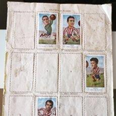 Coleccionismo deportivo: ÁLBUM CROMOS FÚTBOL CAMPEONATO LIGA 1958 1959 GRÁFICAS NILO EXCELSIOR FUTBOLISTAS CABEZONES. Lote 178278373
