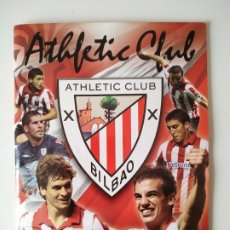 Coleccionismo deportivo: ALBUM COLECCION OFICIAL ATHLETIC CLUB BILBAO 2010 2011 FOOTPRINT. Lote 178280548