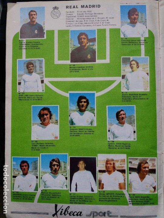 Coleccionismo deportivo: ÁLBUM FÚTBOL XIBECA SPORT. CERVEZAS DAMM. 1973. INCOMPLETO, FALTAN 5 CROMOS. - Foto 5 - 178289618