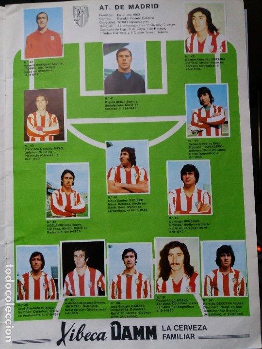Coleccionismo deportivo: ÁLBUM FÚTBOL XIBECA SPORT. CERVEZAS DAMM. 1973. INCOMPLETO, FALTAN 5 CROMOS. - Foto 6 - 178289618