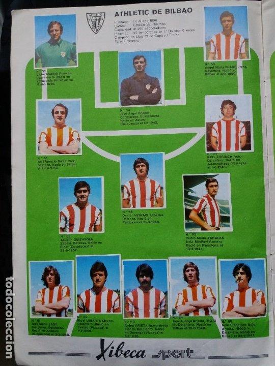 Coleccionismo deportivo: ÁLBUM FÚTBOL XIBECA SPORT. CERVEZAS DAMM. 1973. INCOMPLETO, FALTAN 5 CROMOS. - Foto 7 - 178289618