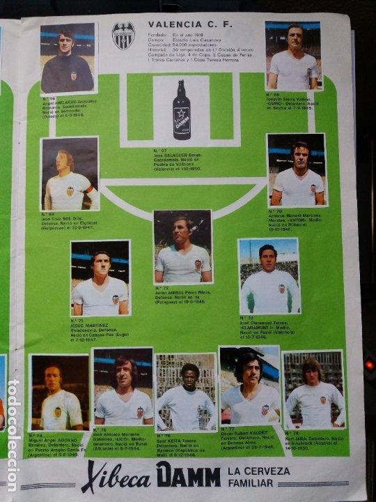 Coleccionismo deportivo: ÁLBUM FÚTBOL XIBECA SPORT. CERVEZAS DAMM. 1973. INCOMPLETO, FALTAN 5 CROMOS. - Foto 8 - 178289618