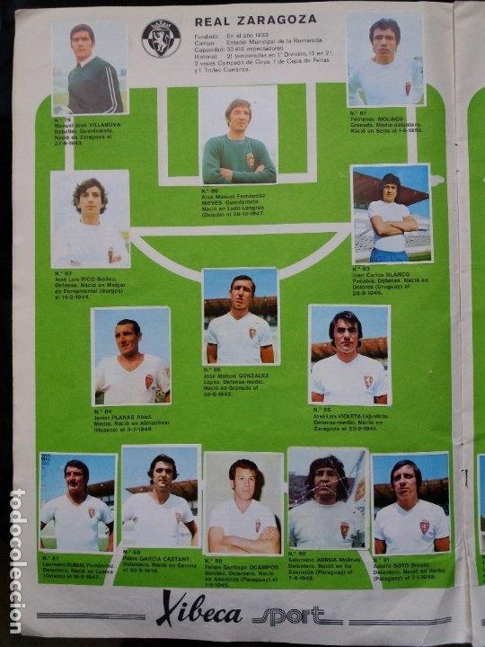 Coleccionismo deportivo: ÁLBUM FÚTBOL XIBECA SPORT. CERVEZAS DAMM. 1973. INCOMPLETO, FALTAN 5 CROMOS. - Foto 9 - 178289618