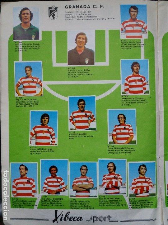 Coleccionismo deportivo: ÁLBUM FÚTBOL XIBECA SPORT. CERVEZAS DAMM. 1973. INCOMPLETO, FALTAN 5 CROMOS. - Foto 11 - 178289618