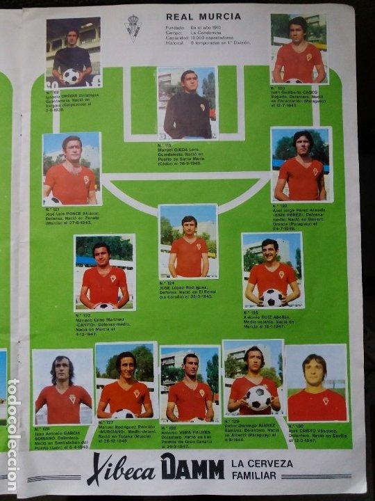 Coleccionismo deportivo: ÁLBUM FÚTBOL XIBECA SPORT. CERVEZAS DAMM. 1973. INCOMPLETO, FALTAN 5 CROMOS. - Foto 12 - 178289618