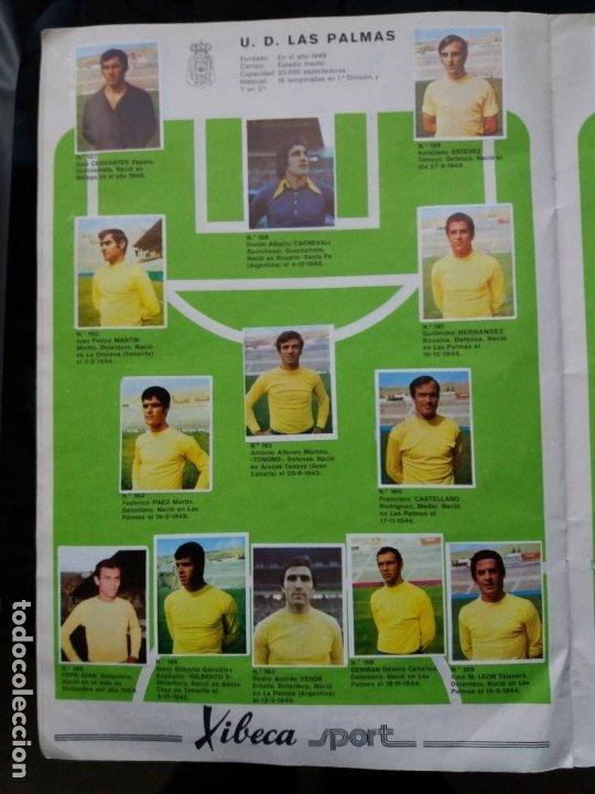 Coleccionismo deportivo: ÁLBUM FÚTBOL XIBECA SPORT. CERVEZAS DAMM. 1973. INCOMPLETO, FALTAN 5 CROMOS. - Foto 15 - 178289618
