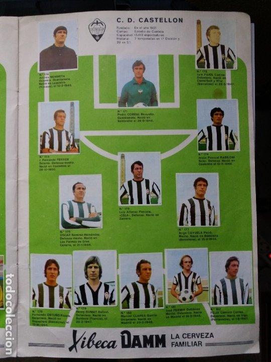 Coleccionismo deportivo: ÁLBUM FÚTBOL XIBECA SPORT. CERVEZAS DAMM. 1973. INCOMPLETO, FALTAN 5 CROMOS. - Foto 16 - 178289618