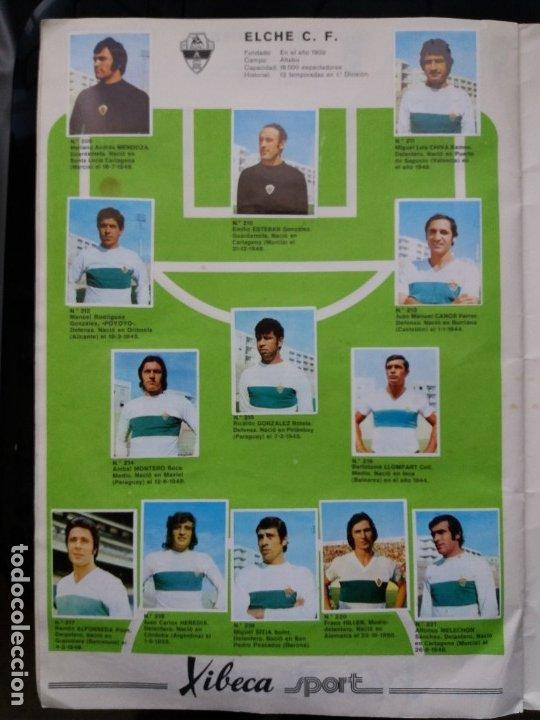Coleccionismo deportivo: ÁLBUM FÚTBOL XIBECA SPORT. CERVEZAS DAMM. 1973. INCOMPLETO, FALTAN 5 CROMOS. - Foto 19 - 178289618